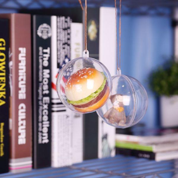 Boules de Noël transparentes   Idées cadeaux et déco Insolites pour Noël