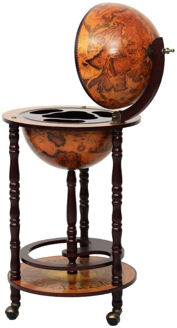 Bar en forme de globe original vintage | Idées cadeaux insolites