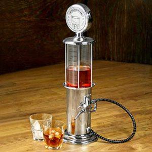Distributeur de boissons en forme de pompe à essence | Idées cadeaux insolites