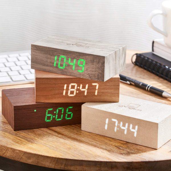 Horloge en bois originale gravée au laser | Idées cadeaux insolites