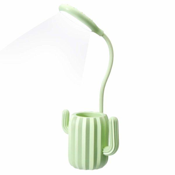 Lampe de bureau originale et multifonction en forme de cactus | Idée cadeau originale et insolite