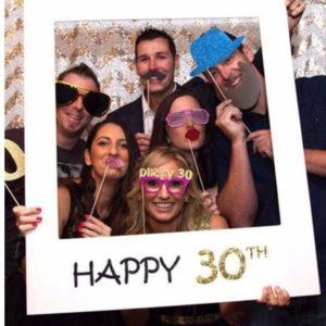 Photobooth 30 ans | Idées cadeaux insolites pour les fêtes d'anniversaires