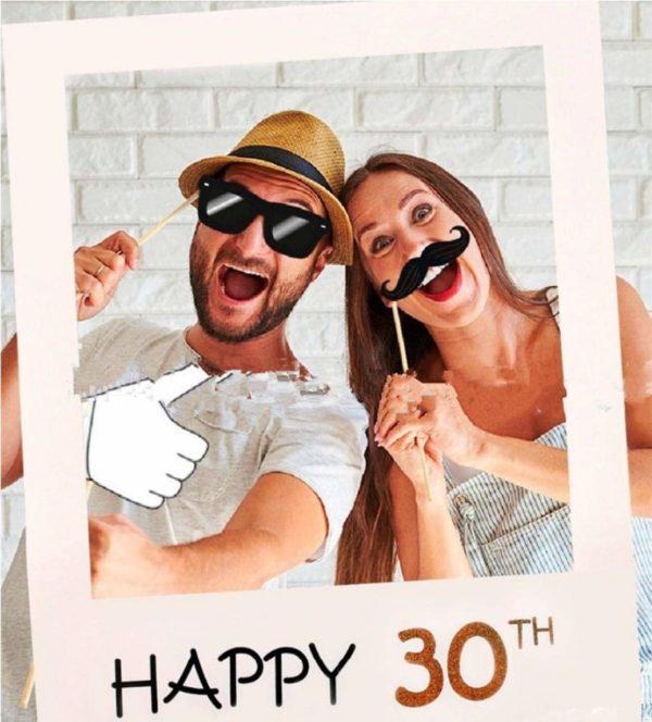 Photobooth 30 ans   Idées cadeaux insolites pour les fêtes d'anniversaires