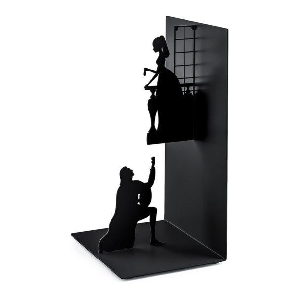 Serre-livre en métal Roméo et Juliette | Idées cadeaux insolites