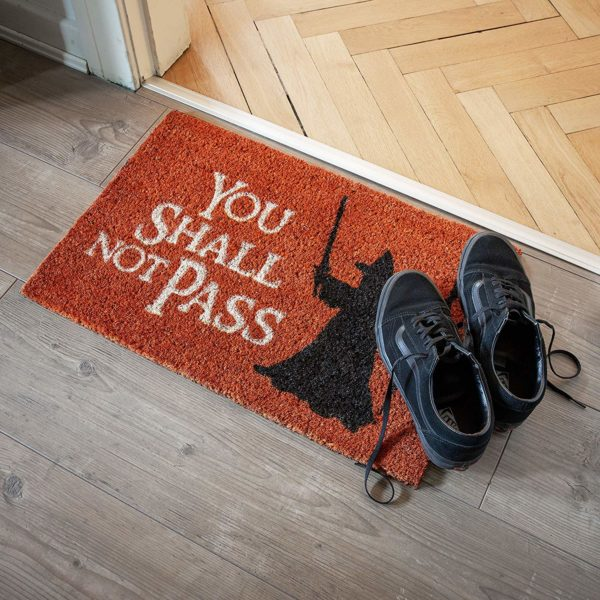Tapis de porte 'You Shall Not Pass' - Seigneur des Anneaux | Idées cadeaux insolites pour les cinéphiles