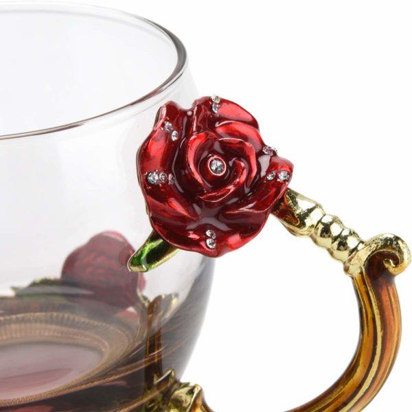 Tasse à thé ou café insolite en verre | Idées cadeaux insolites pour les femmes