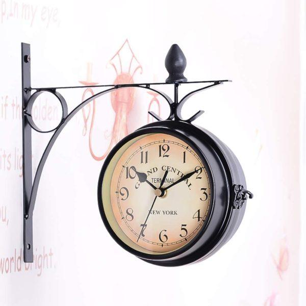 Horloge de gare style rétro vintage   Idées cadeaux insolites
