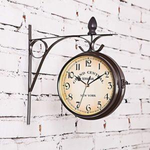 Horloge de gare style rétro vintage | Idées cadeaux insolites