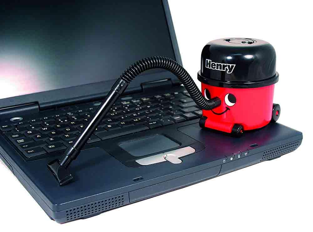 Henry, le mini aspirateur de bureau trop mignon | Idées cadeaux insolites originales bureau