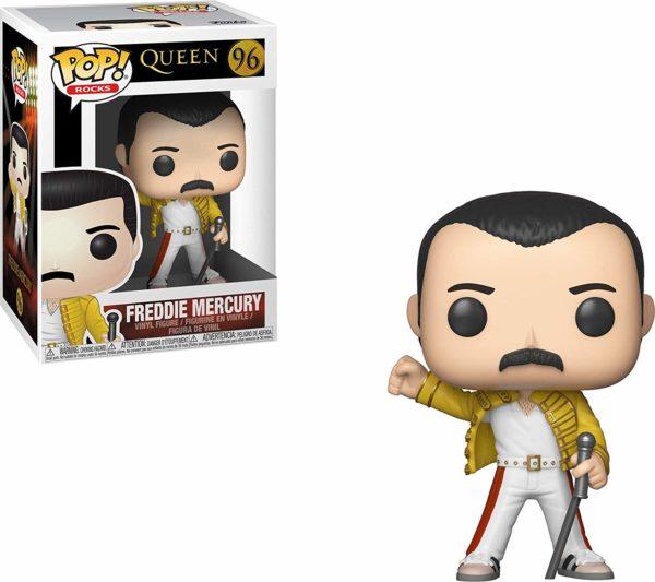 Funko Pop - Figurine de collection Freddie Mercury | Idées cadeaux insolites pour les fans de musique