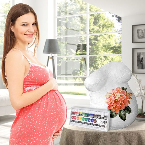 Kit de Moulage ventre grossesse | Idées cadeaux insolites pour mamans