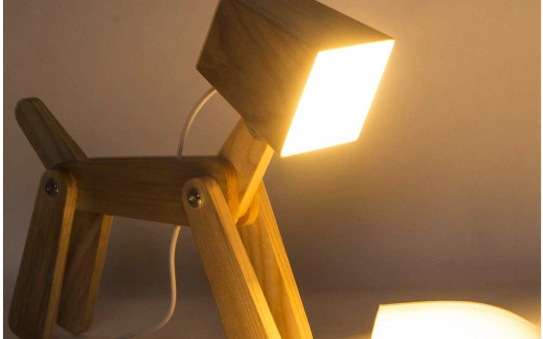 Lampe de chevet originale en forme de chien | Idées cadeaux originales insolites