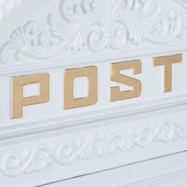 Boîte aux lettres murale vintage   Idées cadeaux insolites