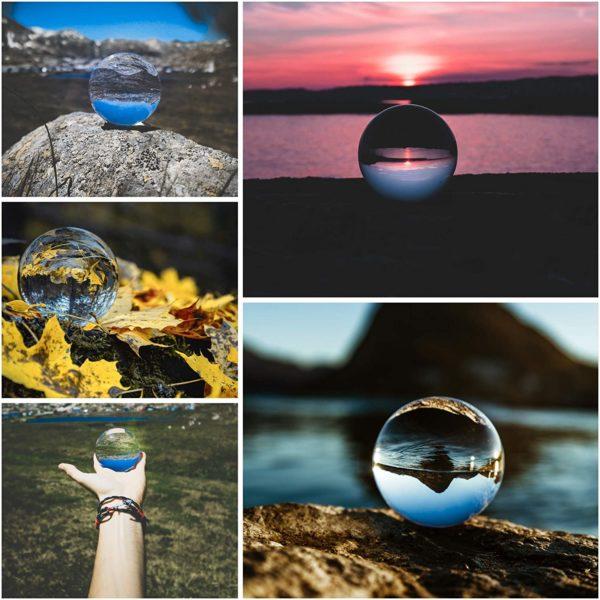 Boule de cristal pour photographie   Idées cadeaux insolites