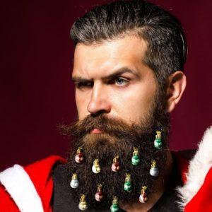 Décorations de Noël pour barbes | Idées cadeaux insolites
