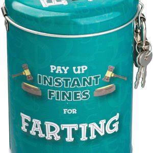 Fart Box : une amende pour pets !   Idées cadeaux insolites pour toute la famille