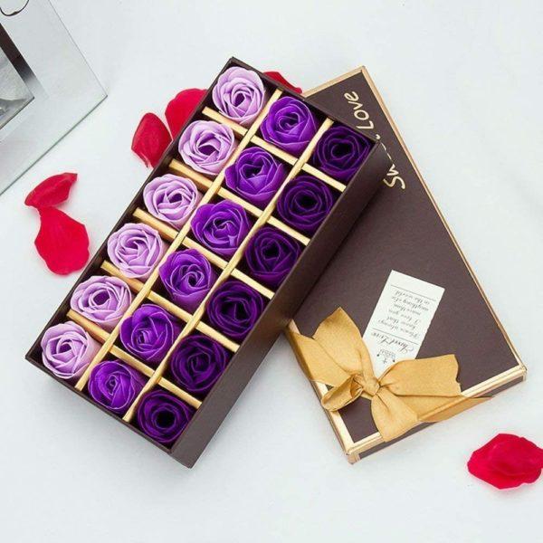Savons en forme de rose | Idées cadeaux Insolites