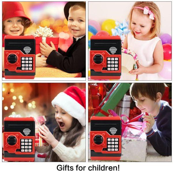 Tirelire électronique avec mot de passe pour enfants | Idées cadeaux insolites