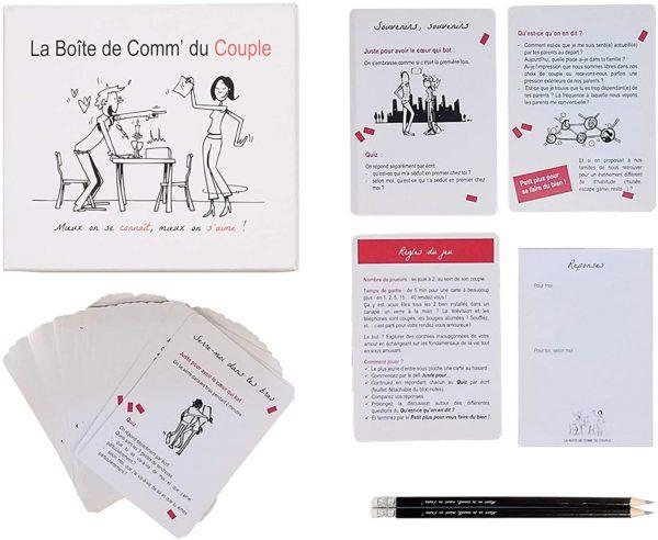 Jeu pour mieux communiquer en couple | Idées cadeaux insolites saint valentin