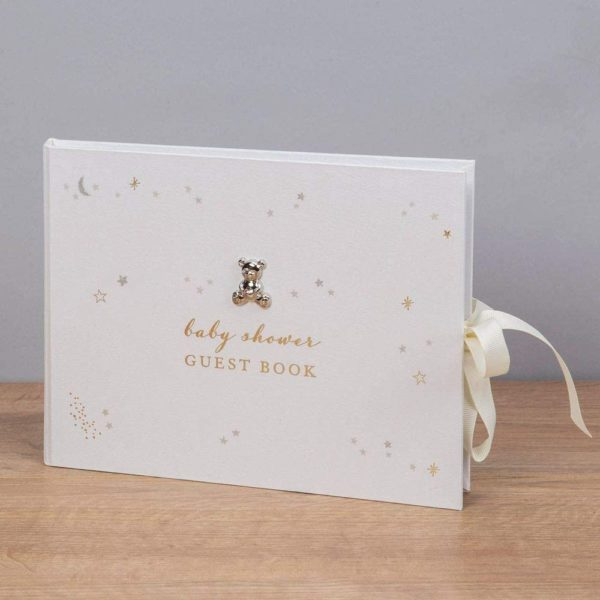 Livre d'or original et élégant pour Baby Shower   Idées cadeaux décos insolites