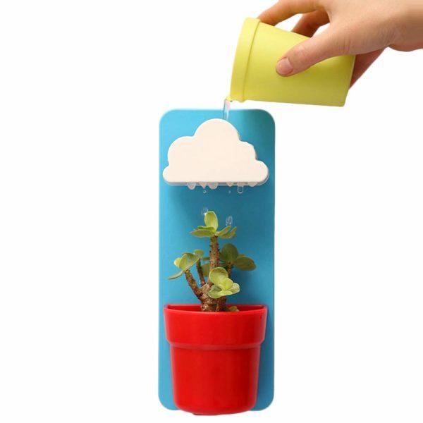 Rainy Pot : le pot de fleur sous la pluie | Idées cadeaux insolites pour la maison