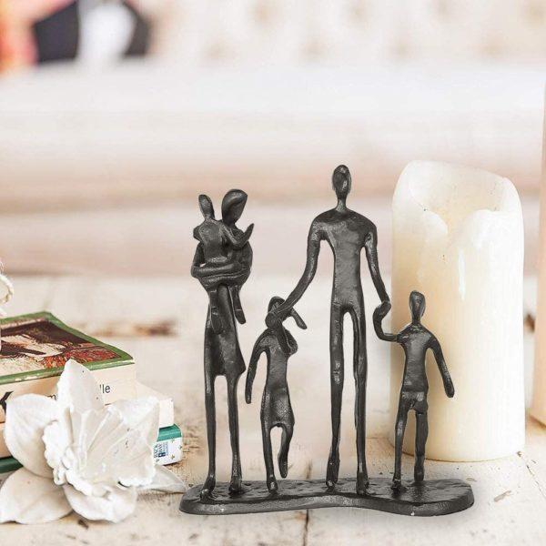 Statuette Sculpture Famille | Idées cadeaux insolites