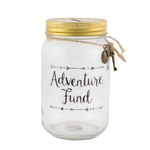 Tirelire de voyage aventure pour financer les voyages | Idées cadeaux insolites pour les voyages