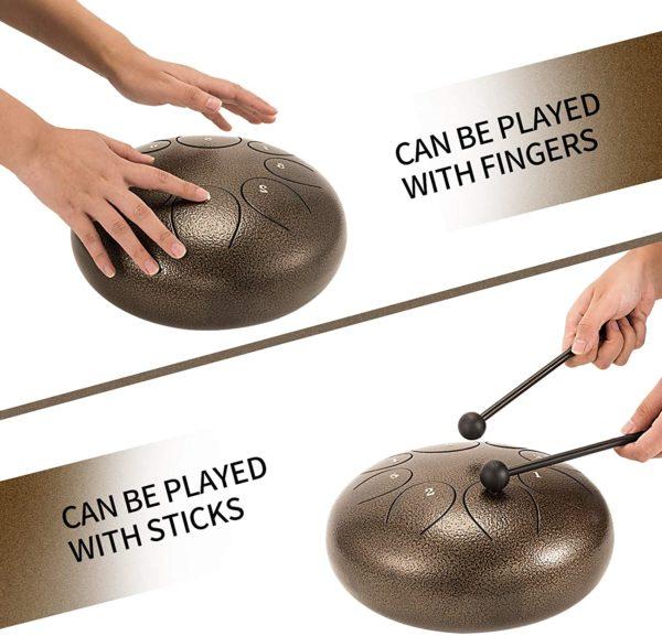 Tongue Drum, l'instrument relaxant | Idées cadeaux insolites Musique
