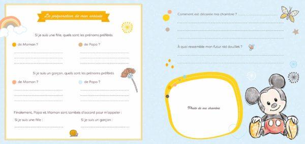 Le livre de naissance DISNEY | Idées cadeaux insolites pour la naissance