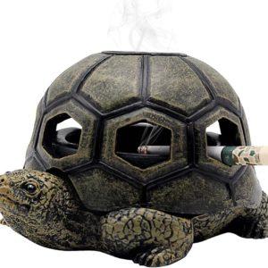 Cendrier en forme de tortue | Idées cadeaux décos insolites