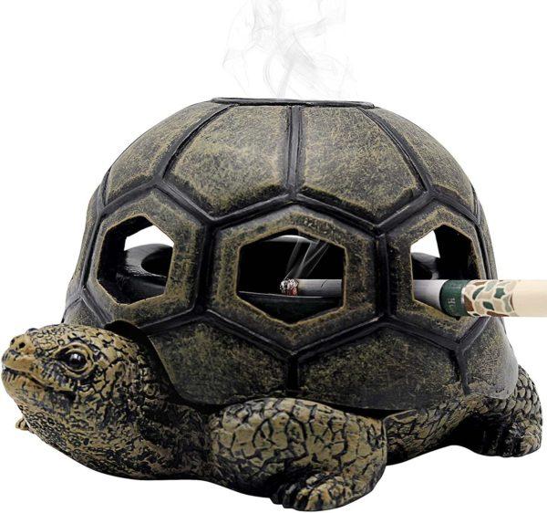 Cendrier en forme de tortue   Idées cadeaux décos insolites