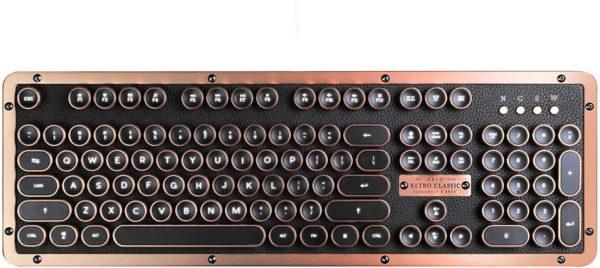 Clavier mécanique retro vintage rétroéclairage | Idées cadeaux insolites