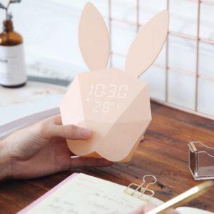 Horloge en forme de lapin | Idées cadeaux insolites
