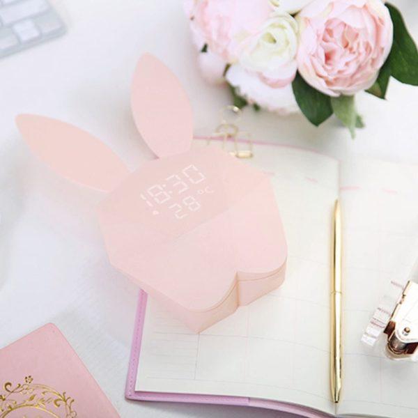 Horloge en forme de lapin   Idées cadeaux insolites