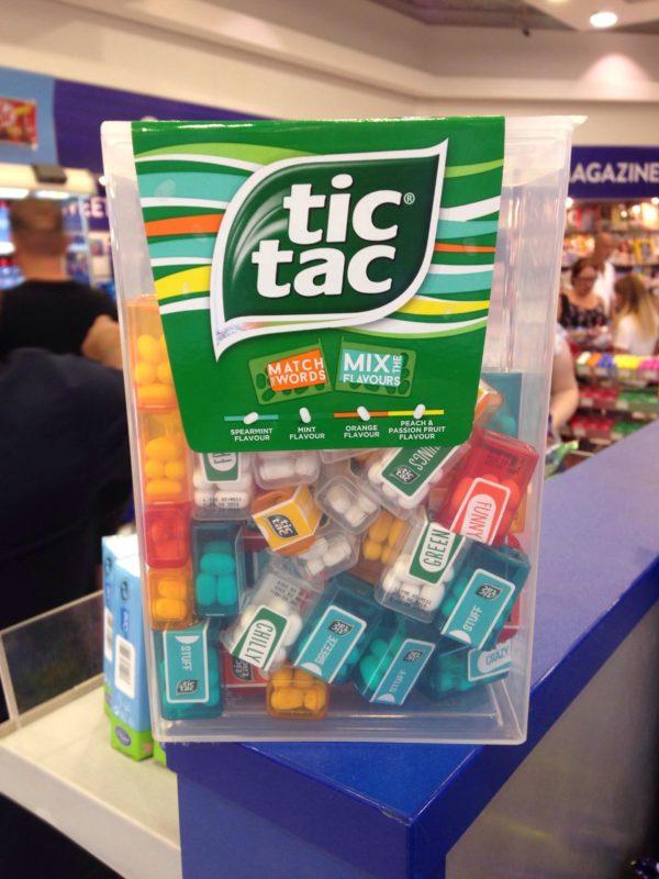 Immense TIC TAC contenant 60 mini boîtes | Idées cadeaux insolites