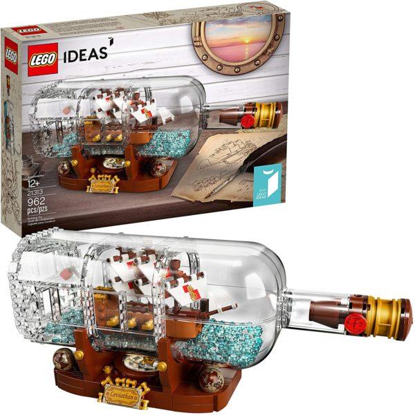 LEGO Bateau dans une bouteille   Idées cadeaux insolites