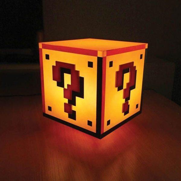 Lampe Mystère Mario Bros | Idées cadeaux insolites