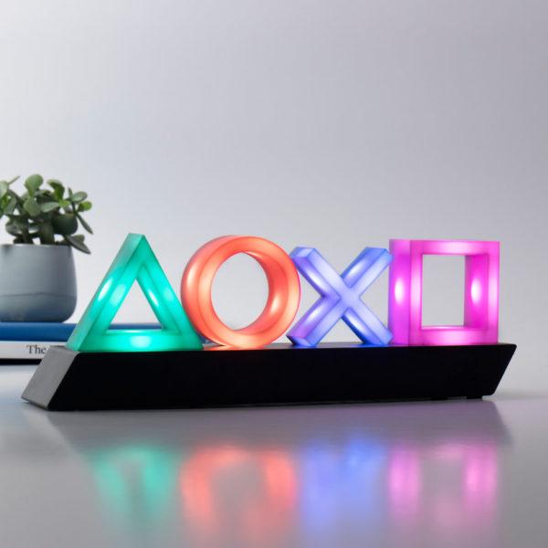 Lampe lumière Playstation | Idées cadeaux insolites