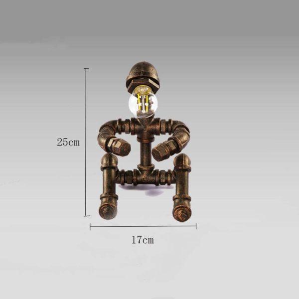 Lampe style robot industriel | Idées cadeaux insolites décoration