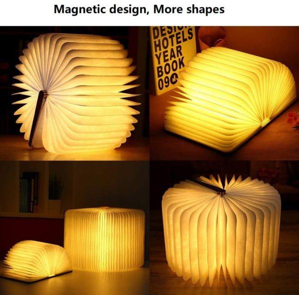 Livre lampe pliante | Idées cadeaux insolites