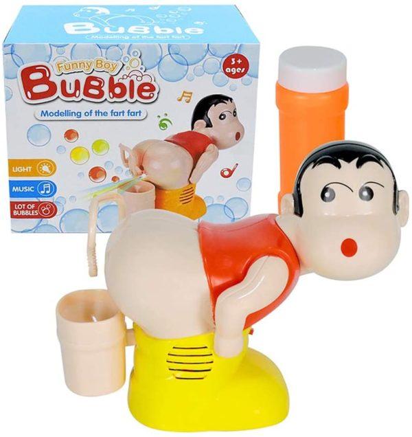 Machine à bulles insolite pet flatulences   Idées cadeaux insolites