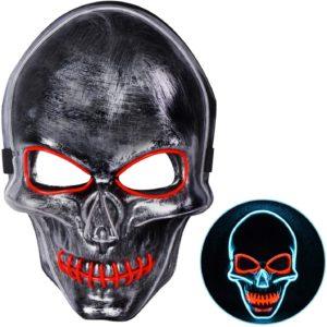 Masque Halloween lumière LED | Idées cadeaux insolites Halloween