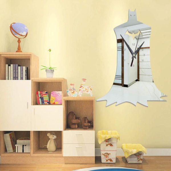 Miroir Horloge Batman | Idées cadeaux insolites