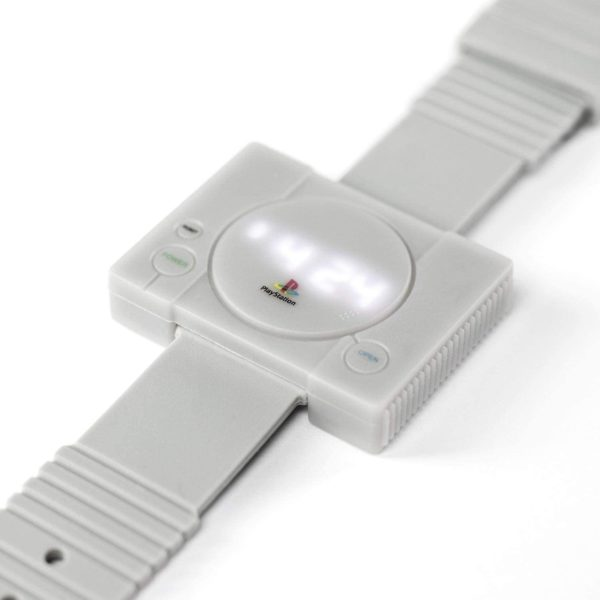 Montre console jeu vidéo Playstation 1 | Idées cadeaux insolites