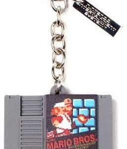 Porte-clés cartouche Nintendo Mario Bros   Idées cadeaux insolites