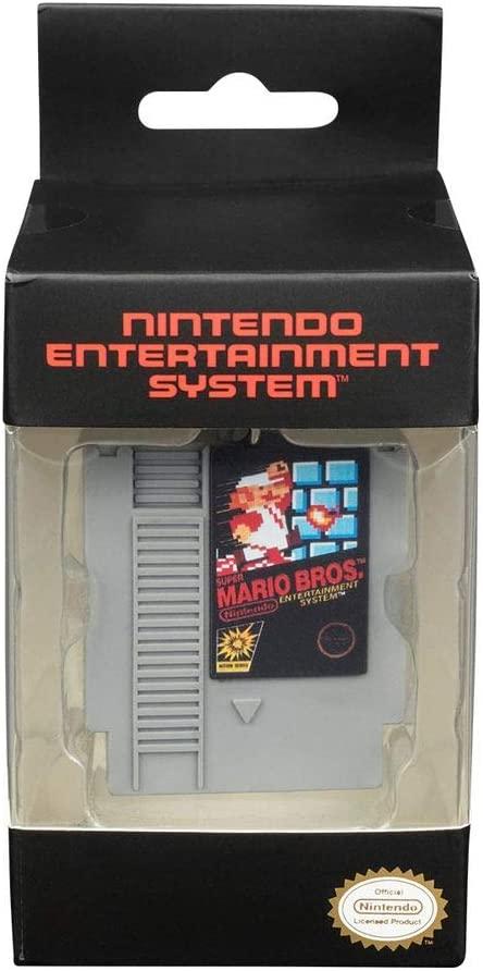 Porte-clés cartouche Nintendo Mario Bros | Idées cadeaux insolites