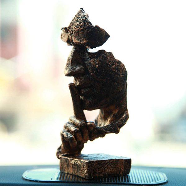 Statue visage insolite | Idée décoration cadeaux insolites