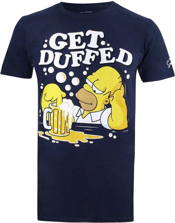 T-shirt Homer Simpson | Idées cadeaux insolites