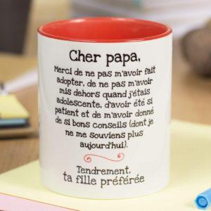 Tasse Mug amusante pour le meilleur des papas | Idées cadeaux insolites