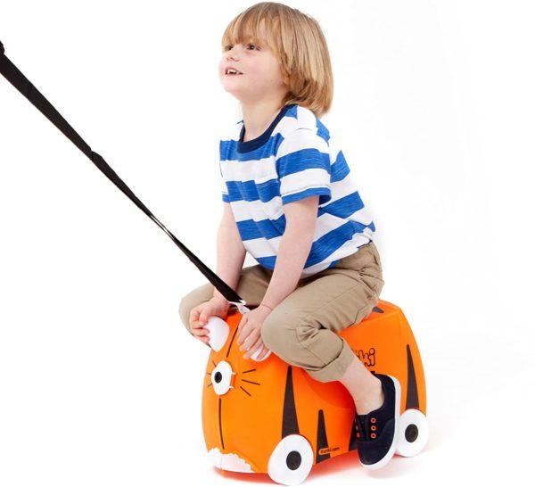 Trunki : la valise à chevaucher insolite pour enfants | Idées cadeaux insolites